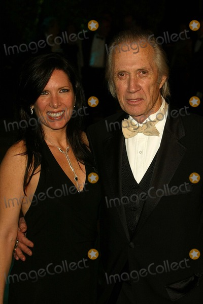 Annie Bierman Photo - Annie Bierman and David Carradine at the 2005 Vanity Fair Oscar Party Mortons West Hollywood CA 02-27-05