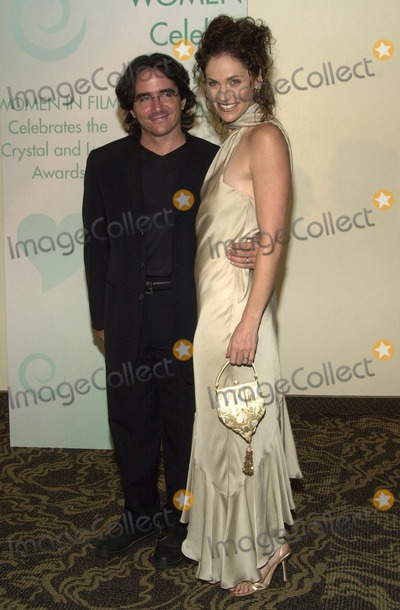 Amy Brenneman Photo - Amy Brenneman and husband Brad Silberling at Women In Films Crystal and Lucy Awards Century Plaza Hotel Century City CA 09-20-02