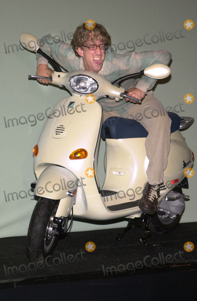 Andy Dick Photo -  Andy Dick at the Vespa Fashion Extravaganza where Piaggio USA introduces fashion accessories for the return of the classic Italian motor scooter Hollywood Blvd 06-24-01