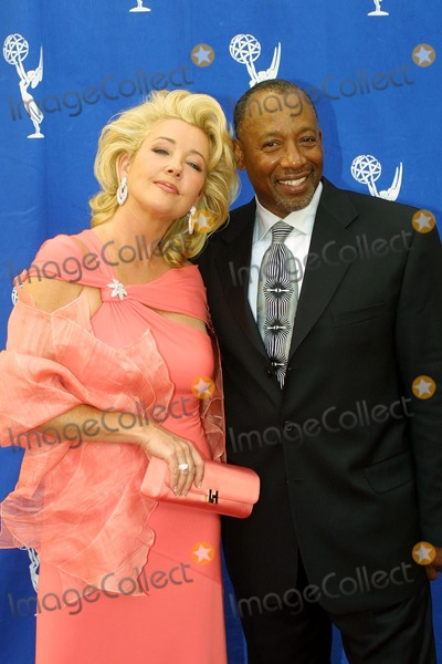 Brad Sanders Photo - Melody Thomas Scott and Brad Sanders at the 31st Annual Daytime Emmy Awards Creative Arts Presentation in the Grand Ballroom at Hollywood  Highland Complex Hollywood CA 05-15-04