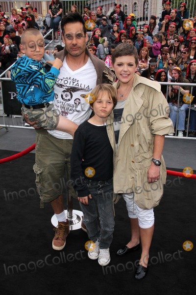 Adrian Pasdar Photo - Adrian Pasdar Natalie Maines and familyat the Pirates of the Caribbean On Stranger Tides World Premiere Disneyland Anaheim CA 05-07-11