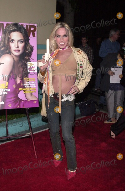 Alexis Arquette Photo - Alexis Arquette at the GLAMOUR 2nd annual Dont Party to benefit Dress For Success held at Ed Debevics restaurant Beverly Hills 04-04-02