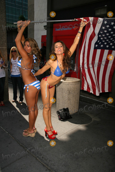 Bridgetta Tomarchio Photo - Bridgetta Tomarchio and Alicia Arden at the launch of Hollywood By The Numbers Sub Prime Slime video and fundraiser for Foreclosure victims Outside Bank of America Hollywood CA 07-03-08