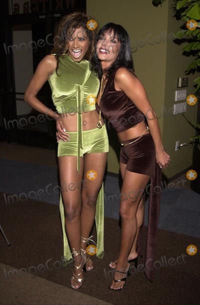 Traci Bingham Photo -  Traci Bingham and Apollonia at the LA Short Film Festival Sunset Room Hollywood 10-05-00