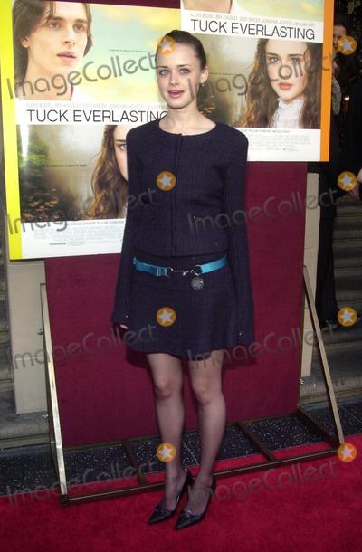 Alexis Bledel Photo - Alexis Bledel at the premiere of Tuck Everlasting El Capitan Theater Hollywood CA 10-05-02