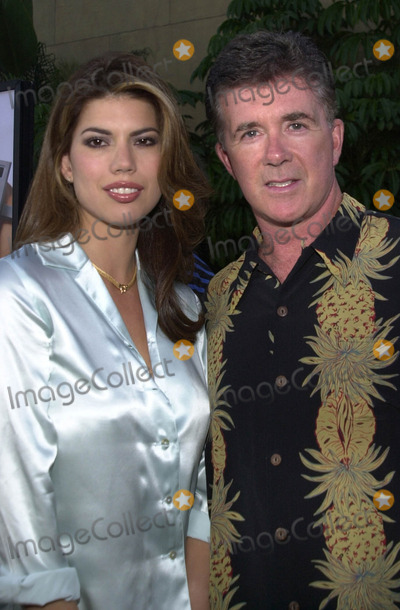 Alan Thicke Photo -  ALAN THICKE and TANYA at the premiere of Warner Brothers Osmosis Jones at the Egyptian Theater Hollywood 08-07-01