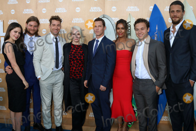 Daniella Alonso Photo - Actress Molly Gordon actor Jake Weary actor Scott Speedman actress Ellen Barkin actor Shawn Hatosy actress Daniella Alonso actor Finn Cole and actor Ben Robsonat the Animal Kingdom Premiere Screening The Rose Room Venice Beach CA 06-08-16