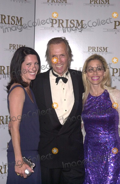 Annie Bierman Photo - Annie Bierman David Carradine and Vicky Roberts at the The 6th Annual Prism Awards CBS Television City 05-09-02