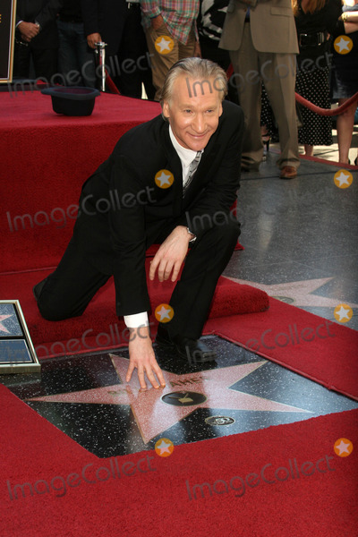 Bill Maher Photo - Bill Maherat the induction ceremony for Bill Maher into the Hollywood Walk of Fame Hollywood CA 09-14-10