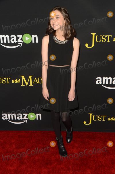 Ashley Boettcher Photo - Ashley Boettcherat the Just Add Magic Amazon Premiere Screening Arclight Hollywood CA 01-14-16