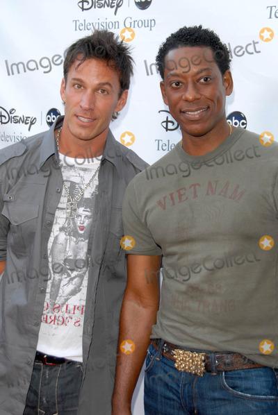 Dan Cortese Photo - Dan Cortese and Orlando Jones at the 2009 Disney-ABC Television Group Summer Press Tour Langham Resort Pasadena CA 08-08-09