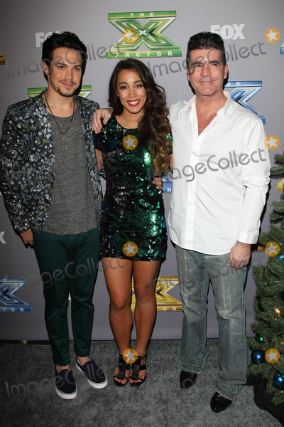 Alex Kinsey Photo - Alex Kinsey Sierra Deaton Simon Cowellat the X Factor Season 3 Finale CBS Television City Los Angeles CA 12-19-13