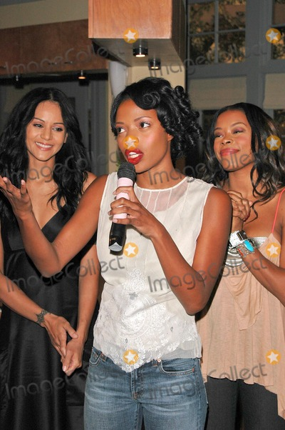 Jill Marie Jones Photo - Persia White Jill Marie Jones and Golden Brooks at the celebration in honor of 100 Episodes of Girlfriends at Stage 23 Paramount Pictures Hollywood CA 10-06-04