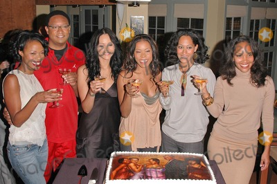 Reggie Hayes Photo - Jill Marie Jones Reggie Hayes  Persia White Golden Brooks Tracee Ellis Ross and CreatorProducer Mara Brock Akil at the celebration in honor of 100 Episodes of Girlfriends at Stage 23 Paramount Pictures Hollywood CA 10-06-04
