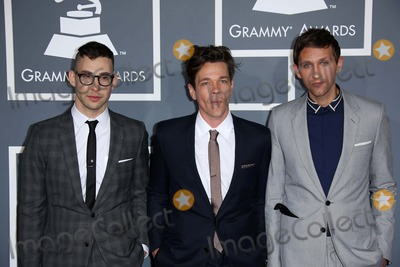 Andrew Dost Photo - Jack Antonoff Nate Ruess Andrew Dostat the 55th Annual GRAMMY Awards Staples Center Los Angeles CA 02-10-13