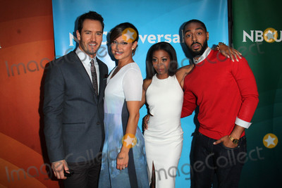 Bresha Webb Photo - Mark-Paul Gosselaar Vanessa Lachey Bresha Webb Tone Bellat the NBCUniversal Press Tour Day 2 Beverly Hilton Beverly Hills CA 08-13-15