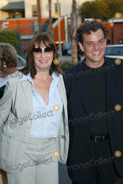 Angelica Huston Photo - Angelica Huston and Danny Huston at the premiere of Ivans Etc at Raleigh Studios Hollywood 06-04-02