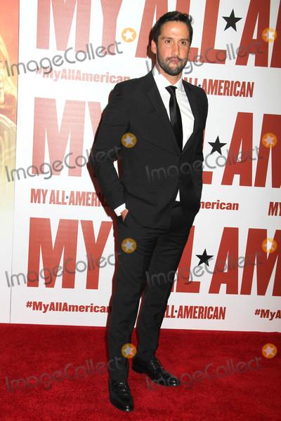 Juston Street Photo - Juston Streetat the My All American LA Premiere The Grove Los Angeles CA 11-09-15