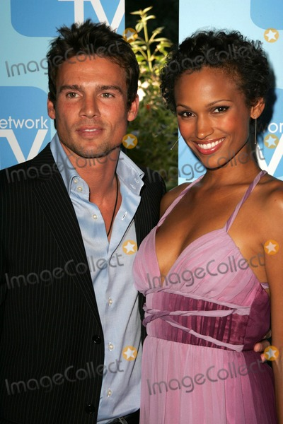 NICOLE PULLIAM Photo - Ethan Erickson and Nicole Pulliamat the MyNetworkTV TCA Presentation featuring the shows Desire and Fashion House The Ritz Carlton Pasadena CA 07-20-06