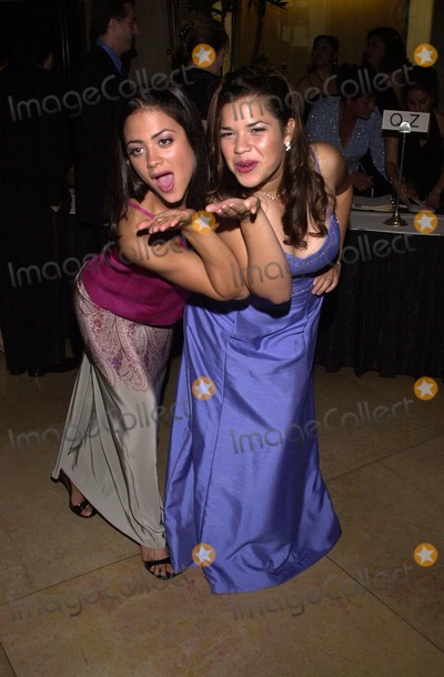 America Ferrera Photo - Camille Guaty and America Ferrera at the 32nd Anniversary 2002 Nosotros Golden Eagle Awards Beverly Hilton Hotel Beverly Hills CA 07-26-02