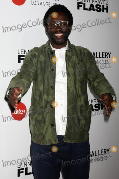 Leica Gallery Photo - Tony Okungbowaat the Lenny Kravitz Flash Photo Exhibit Launch Leica Gallery Los Angeles CA 03-05-15