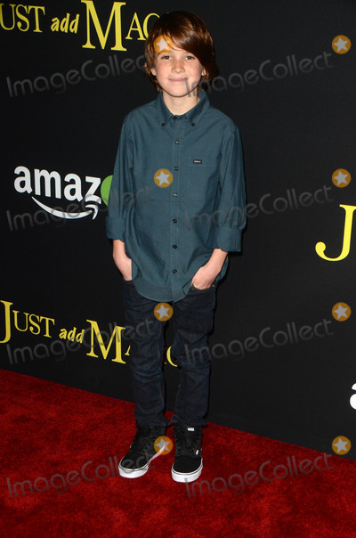 Aiden Lovekamp Photo - Aiden Lovekampat the Just Add Magic Amazon Premiere Screening Arclight Hollywood CA 01-14-16