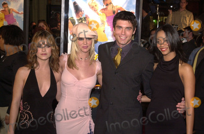 Anson Mount Photo - Taryn Manning Britney Spears Anson Mount and Zoe Saldana at the premiere of Paramounts Crossroads at the Chinese Theater 02-11-02