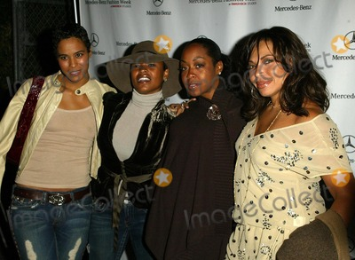 Tisha Campbell Photo - Daphne Williams and Nia Long with Tisha Campbell and Tichina Arnoldat the Third day of Mercedes-Benz Fashion Week Smashbox Culver City CA 10-18-05