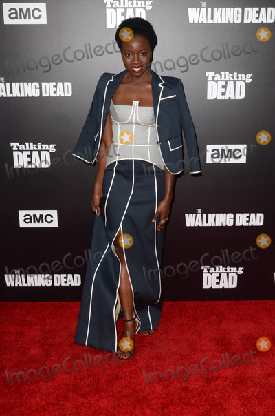 Danai Gurira Photo - Danai Guriraat AMCs Special Edition of Talking Dead Hollywood Forever Cemetery Los Angeles CA 10-23-16