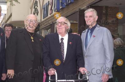 Ray Bradbury Photo - Rod Steiger Ray Bradbury and Charleton heston at the Star on the Walk of Fame ceremony 04-01-02