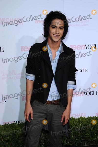 Avan Jogia Photo - Avan Jogiaat the 8th Annual Teen Vogue Young Hollywood Party Paramount Studios Hollywood CA 10-01-10