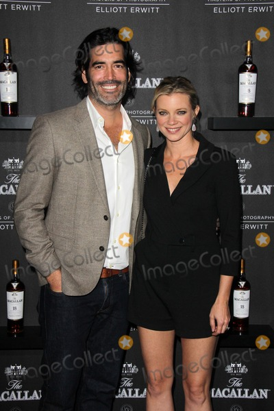Leica Gallery Photo - Carter Oosterhouse Amy Smartat the Macallan Masters of Photography Featuring Elliott Erwitt Leica Gallery Los Angeles CA 10-24-13