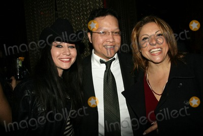 Sophia Santi Photo - Elissa Dowling Edwin Santos and Sophia Santiat the Playback Wrap Party House of Blues West Hollywood CA 04-04-10