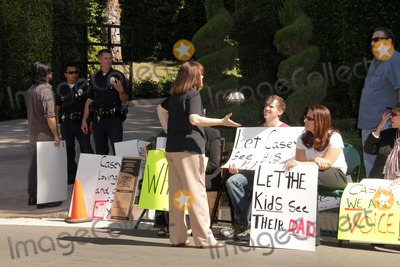 Casey Kasem Photo - Jason Thomas Gordon Josh Summers Grisselle Halimeat a protest involving Casey Kasems children brother and friends who want to see him but have been denied any contact  Private Location Holmby Hills CA 10-01-13