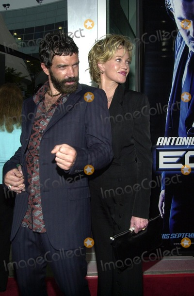 Melanie Griffith Photo - Antonio Banderas and wife Melanie Griffith at the premiere of Warner Bros Ballistic Ecks Vs Sever premiere at the Cinerama Dome Hollywood 09-18-02