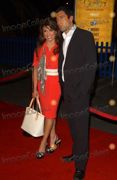 JT Torregiani Photo - Paula Abdul and JT Torregianiat the Los Angeles Opening Cirque Du Soleils Corteo The Forum Los Angeles CA 08-24-07