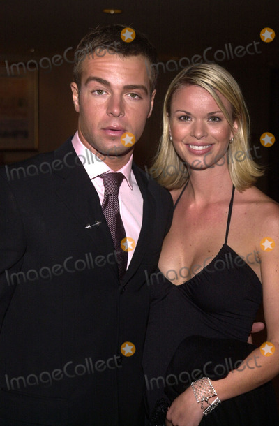 Brooke Taylor Photo -  Joey Lawrence and Brooke Taylor at the 8th annual Race to Erase MS gala Century Plaza Hotel Century City 05-18-01