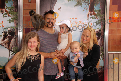 Chuck Liddell Photo - Chuck Liddell and familyat the Island Of Lemurs Madagascar World Premiere California Science Center Los Angeles CA 03-29-14