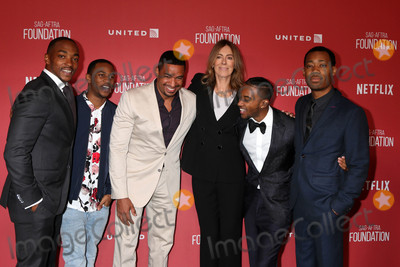 Anthony Mackie Photo - Anthony Mackie Malcolm David Kelley Laz Alonso Kathryn Bigelow Algee Smith Tyler James Williamsat the SAG-AFTRA Foundations Patron of the Artists Awards 2017 Wallis Annenberg Center for the Performing Arts Beverly Hills CA 11-09-17