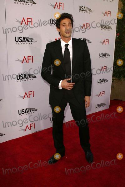 ADRIAN BRODY Photo - Adrian Brody at the 32nd AFI Life Achievement Award honoring Meryl Streep Kodak Theater Hollywood CA 06-10-04