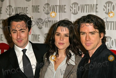 Alan Cumming Photo - Alan Cumming Neve Campbell and Christian Campbell at the Showtime Winter TCA Party Universal Studios Universal City CA 01-12-05