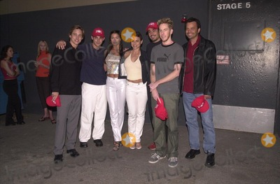 Ashley Lyn Cafagna Photo -  Jay Kenneth Johnson Jason Cook Ashley Lyn Cafagna Natalie Raitano Danny Nucci and Chris Owen at Universals Ultimate Graduation party in Hollywood to celebrate the release of AMERICAN PIE on videotape and DVD 05-15-00