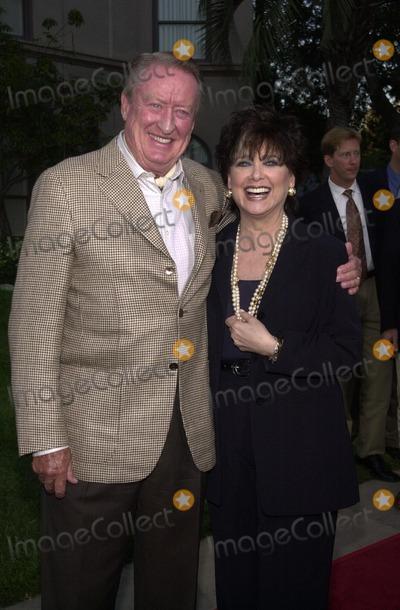 Suzanne Pleshette Photo - Tom Posten and Suzanne Pleshette at the NBC All-Star Party Ritz Carlton Hotel Pasadena CA 07-24-02