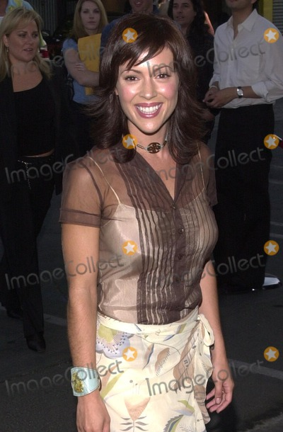 Alyssa Milano Photo - Alyssa Milano at a photography show and auction Picturing A New South Africa Featuring work by Alyssa Milano Track 16 Gallery Bergamont Station Santa Monica CA 08-10-02