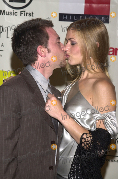 Andrea Elmer Photo -  David Faustino and Andrea Elmer at the 8th annual Race to Erase MS gala Century Plaza Hotel Century City 05-18-01