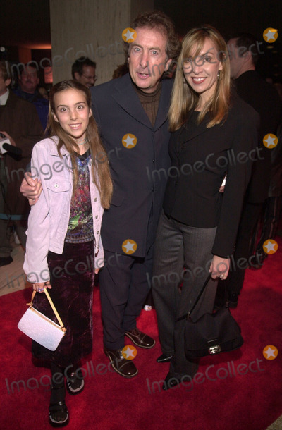 ABBA Photo - Eric Idle Tania Kosevich daughter Lily at the premiere of MAMA MIA the musical based on the songs of ABBA Schubert Theater Century City 02-26-01