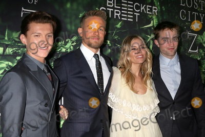 Tom Holland Photo - Tom Holland Charlie Hunnam Sienna Miller Robert Pattinsonat the The Lost City of Z Premiere ArcLight Hollywood CA 04-05-7