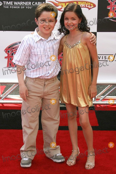 Ariel Winter Photo - Nicholas Elia and Ariel Winter at the Los Angeles premiere of Speed Racer Nokia Theatre Los Angeles CA 04-26-08