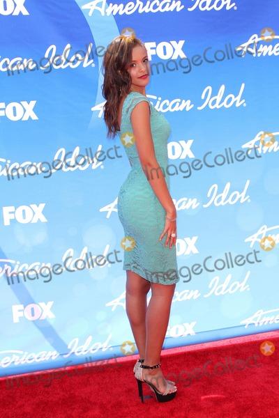 Aubrey Cleland Photo - Aubrey Clelandat the American Idol Season 12 Finale Arrivals Nokia Theater Los Angeles CA 05-16-13
