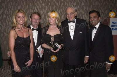 Casey Kasem Photo -  Nadia Comaneci Bart Conner Joey Masry Ed Masry and Casey Kasem at the Night Under The Stars Dinner-Dance to raise money for MS Beverly Hills 04-29-00